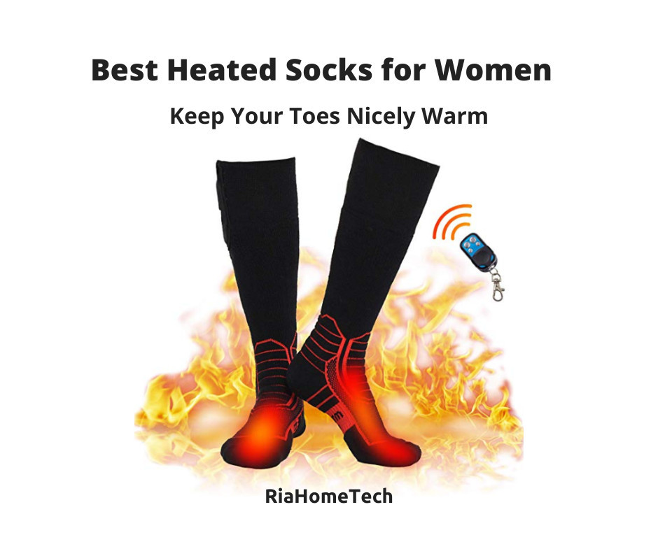 best rechargeable heated socks for women