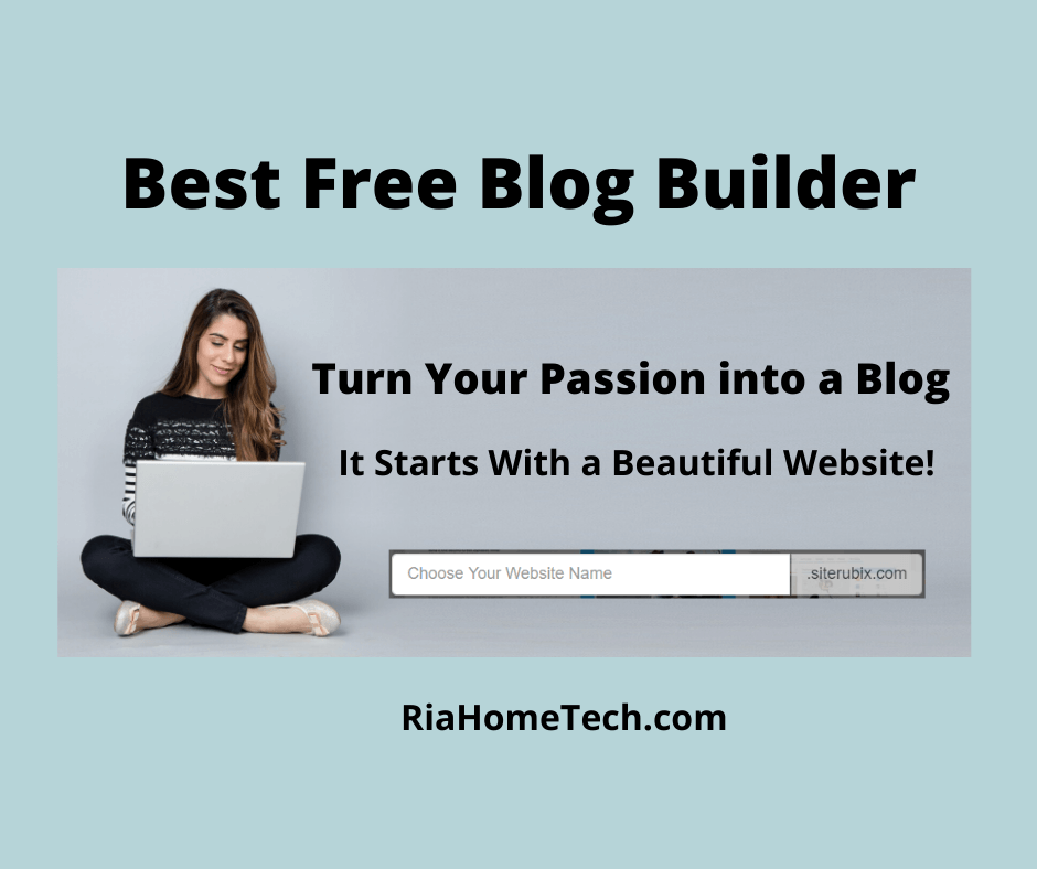 Best free blog website builder