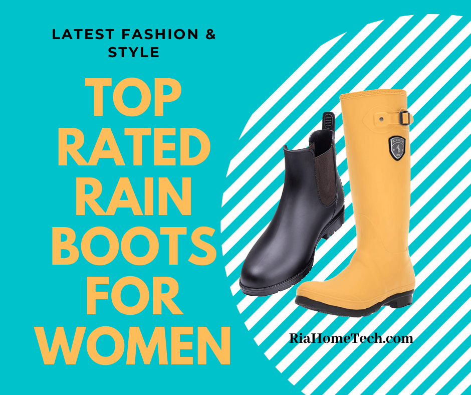 Top Rated Rain Boots for Women