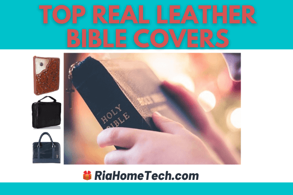 Real Leather Bible Covers
